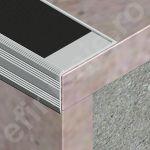 Protectie treapta Prolux cu canal din aluminiu eloxat - ATI307