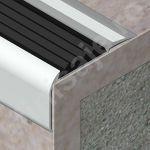 Protectie treapta Prolux cu canal din aluminiu eloxat - ATI507