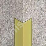 Cornier / coltar Prolux aluminiu cu laturi tesite din aluminiu eloxat - LCA257