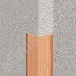 Cornier / coltar Lineco flexibil versatil din PVC finisaj imitatie lemn - LCF307