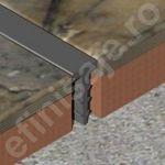 Profil Prolux 'T' din PVC - EDPP041