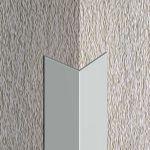 Cornier / coltar Lineco aluminiu natural - LLA105