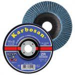 Disc lamelar conic inox / metal 115 x 22 granulatie 60