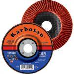 Disc lamelar conic cu granula ceramica 125 x 22 granulatie 80