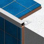 Bagheta Lineco patrata din aluminiu eloxat 10 mm - TDL105