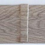 Set 4 buc. piese Lineco imbinare mijloc culoare stejar Mocha pentru plinta parchet PBC605 - PBL605. 154-S4