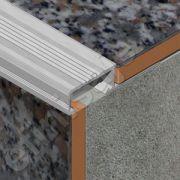 Protectie Prolux pentru trepte ceramice din aluminiu eloxat - ATC127
