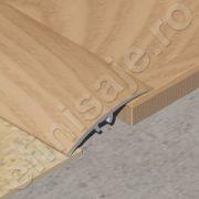 Trecere / prag XLINE din aluminiu sublicromat in nuante lemnoase - PLC417