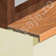 Glaf Prolux interior termorezistent din PVC culori lemnoase - GLI206