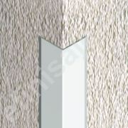 Cornier / coltar Prolux inox cu laturi tesite din inox - LCI207