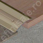 Trecere Prolux lata pentru diferenta de nivel din aluminiu eloxat - PSD409