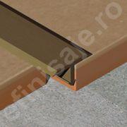 Profil Prolux 'T' din aluminiu eloxat - TLA207