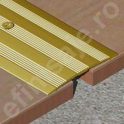 Trecere XLine lata cu striatii din aluminiu eloxat - XSG519