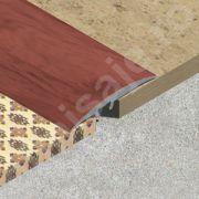 Trecere Lineco lata din PVC folio - PPF409