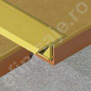 Profil Prolux 'T' din aluminiu eloxat - TLA209