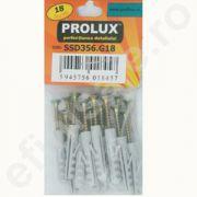 Set Prolux 18 buc. holzsuruburi aurii - SSD356. G18