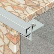 Bagheta Genesis dreapta din aluminiu pentru mozaic - EAM080