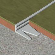 Bagheta Genesis dreapta flexibila din aluminiu natural - EFA100