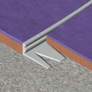 Bagheta Genesis dreapta flexibila din aluminiu natural - EFA150