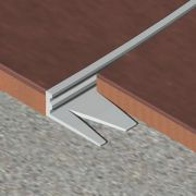Bagheta Genesis dreapta flexibila din aluminiu natural - EFA225