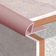 Bagheta Genesis PVC pentru colt exterior coltar faianta culori uni - ETR108