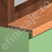 Glaf Prolux interior termorezistent din PVC culori lemnoase - GLI153
