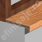 Glaf Prolux interior termorezistent din PVC culori lemnoase - GLI203