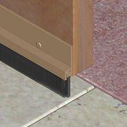 Perie etansatoare pentru usi cu suport din aluminiu si filamente - PAP251