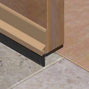 Perie etansatoare pentru usi cu suport din PVC si filamente - PPN251