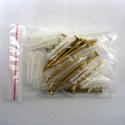 Set Lineco 12 buc. holzsuruburi 3 x 35 mm cu dibluri pentru LTI407 si PTS537 - SSS302