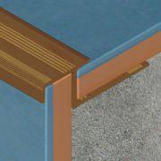 Protectie Prolux pentru trepte ceramice din aluminiu eloxat - ATD127