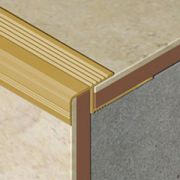 Protectie XLine pentru trepte ceramice din aluminiu eloxat - XTD117