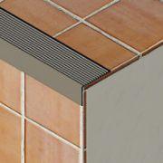 Protectie treapta Prolux cu rizuri din aluminiu eloxat - PSR387