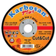 Disc flex debitare inox Cut&Cut 115 x 1 x 22