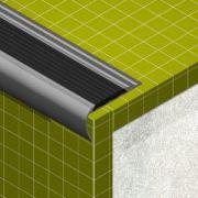 Protectie treapta Lineco cu insertie din PVC cauciucat - ATIL485