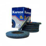 Disc lamelar conic Kareco 125 x 22 granulatie 40