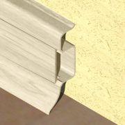Plinta PVC Prolux pentru cabluri 50 x 22 mm culoare fag deschis - PBC505