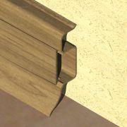 Plinta PVC Prolux pentru cabluri 50 x 22 mm culoare stejar vechi - PBC505