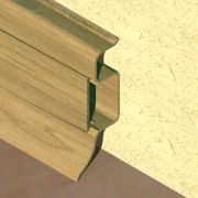 Plinta PVC Prolux pentru cabluri 50 x 22 mm culoare stejar - PBC505