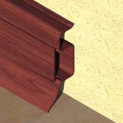 Plinta PVC Prolux pentru cabluri 50 x 22 mm culoare mahon - PBC505