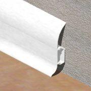 Plinta PVC Lineco pentru cabluri 60 x 20 mm culoare alb - PBC605