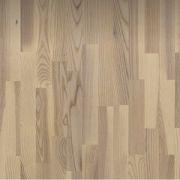 Parchet triplustratificat Polarwood Frasin Living Alb Mat 3 lamele