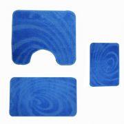 Set covorase baie 60/100 3 piese - albastru