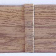 Set 4 buc. piese Lineco imbinare mijloc culoare stejar miere pentru plinta parchet PBC605 - PBL605. 407-S4
