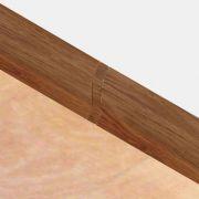 Set 4 buc. piese Lineco imbinare mijloc culoare stejar cognac pentru plinta parchet PBC605 - PBL605. 124-S4