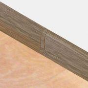 Set 4 buc. piese Lineco imbinare mijloc culoare stejar nordic pentru plinta parchet PBC605 - PBL605. 126-S4