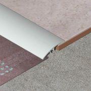 Trecere Prolux lata lisa din aluminiu eloxat - PLA417