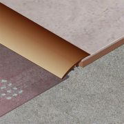 Trecere Prolux lata lisa din aluminiu eloxat - PLA419