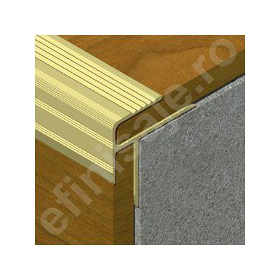 Protectie Prolux pentru trepte parchetate din aluminiu eloxat - APP087