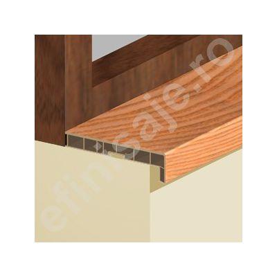 Glaf Prolux interior termorezistent din PVC culori lemnoase - GLI156